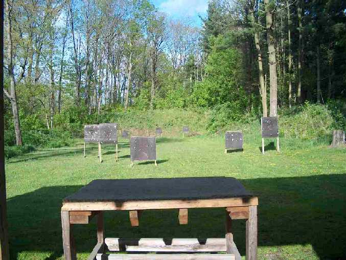 Outdoor Pistol Range